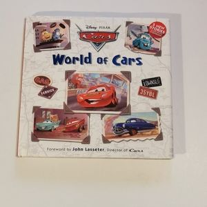 3 for $25 💘 Disney PIXAR World of Cars Storybook!